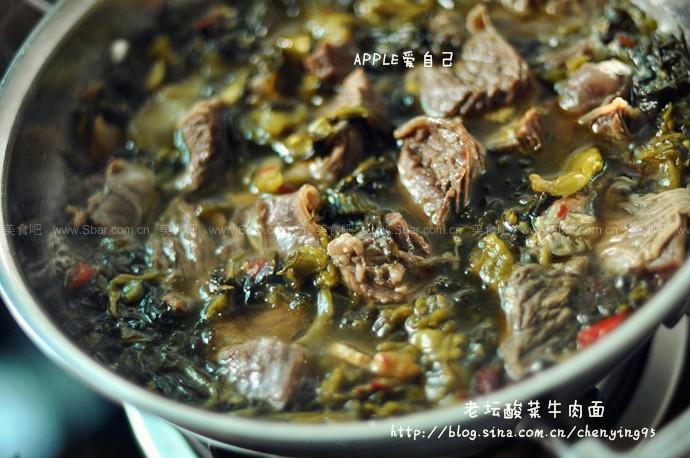 老坛酸菜牛肉面