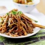 雷笋炒肉丝(感恩《舌尖上的中国2》的时节)