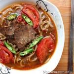 紅燒番茄牛肉蕎麥面