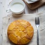 肉桂菠萝翻转蛋糕(甜品点心)