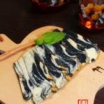 水墨戚风蛋糕(早餐菜谱)