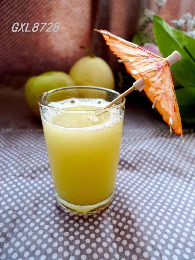 苹果甜瓜汁