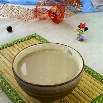 红枣百合莲子豆浆