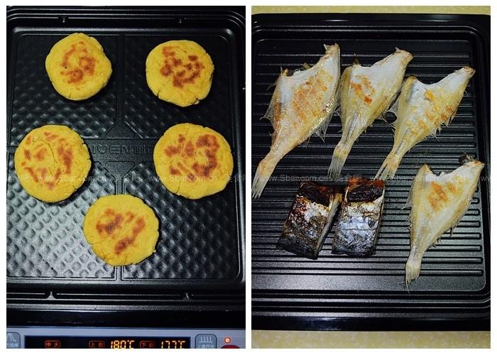 烙粑粑煎鸡肉(电饼铛菜谱)做法火腿肠的大全小鱼图片