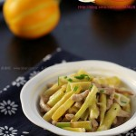 鲜笋炒肉丝(感恩《舌尖上的中国2》的时节)