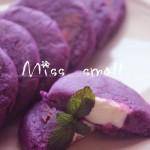 奶酪紫薯饼(甜品点心)