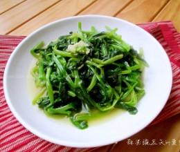 蒜泥豌豆尖
