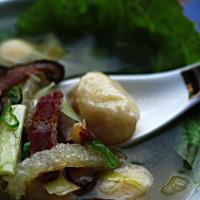 蒲菜三鮮羹