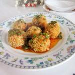 小米丸子(清蒸菜)