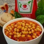 茄汁焖黄豆(电压力锅菜谱)