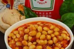茄汁焖黄豆