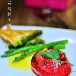 凤尾番茄烤柿子椒(烤箱菜)