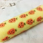 彩绘草莓蛋糕卷(甜品点心)