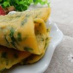 韭菜玉米面饼(早餐菜谱)