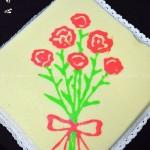 母亲节康乃馨蛋糕(甜品点心)
