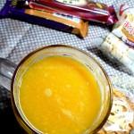 香芒雪梨汁(为冲刺中考的女儿提供的营养助力果汁)
