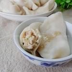 茭白鲜肉水饺(早餐菜谱)