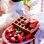 紫薯华夫饼(早餐菜谱)