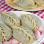 山芹菜蒸饺(早餐菜谱)
