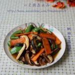 蚝油香菇胡萝卜