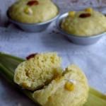 新鲜玉米发糕(早餐菜谱)