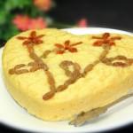 玉米面发糕(早餐菜谱)
