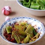 陕西菠菜蒜蘸面(陕西有名的美味蒜蘸面)