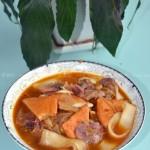 腊肉炖巴东豆干(源自清代的土家族美食)
