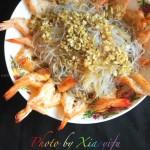 蒜蓉开屏虾(10分钟做出可以宴客的快手菜)