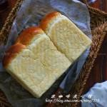 黑芝麻土司&牛奶超棉柔土司(早餐菜谱)