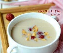 核桃淮山红枣米糊