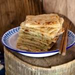千层葱油饼(早餐菜谱)