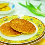 玉米面饼子(早餐菜谱)
