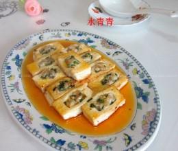 嫩豆腐酿肉