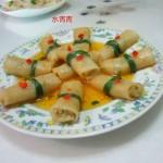 煎白萝卜卷