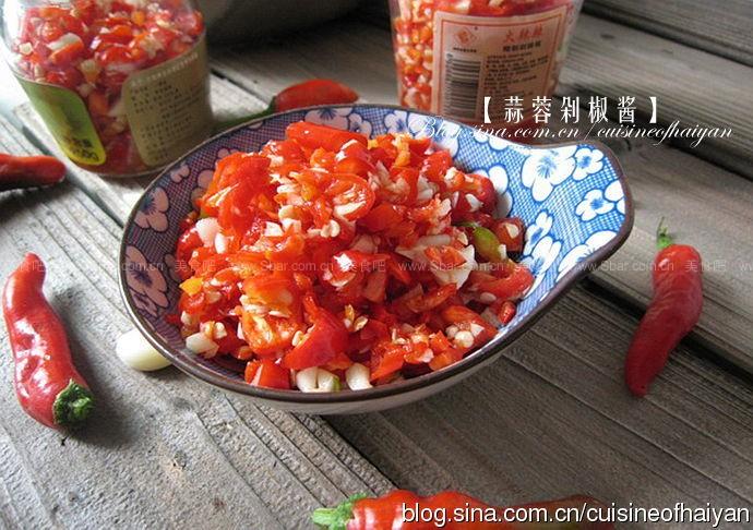 蒜蓉剁椒酱