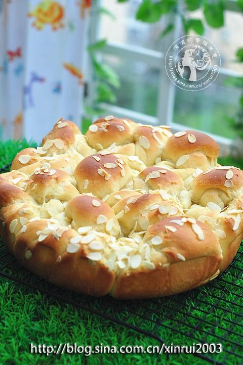 花生酱杏仁面包