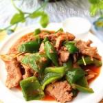 青椒炒瘦肉