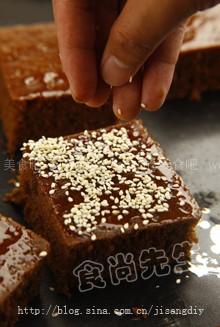 酵母黑糖糕