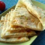 香葱虾皮饼(电饼铛菜谱)