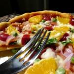 培根甜橙披萨(下午茶)