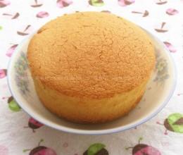 六寸原味戚风蛋糕