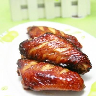 健康无油版的烤鸡翅