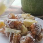 菠萝油条虾(台港茶餐厅的招牌菜)