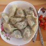 槐树花饺子(早餐菜谱)