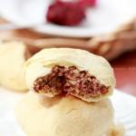 玫瑰酥皮饼(甜品点心)