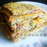苦荞多文治烙饼(早餐菜谱)