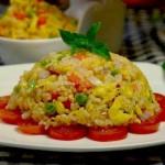 茄汁什锦炒饭(早餐菜谱)