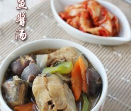 明太鱼酱汤