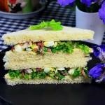 鸡蛋沙拉三明治(早餐菜谱)